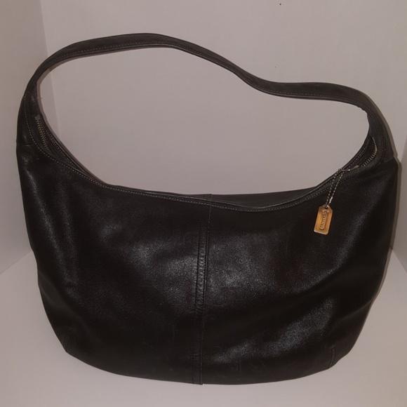 b1225f9508 Black Coach Hobo Bag